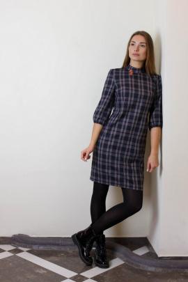 Платье VG Collection 181 клетка