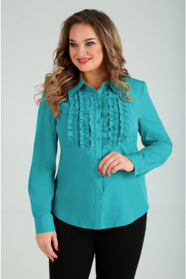 Блуза Таир-Гранд 6227 бирюза