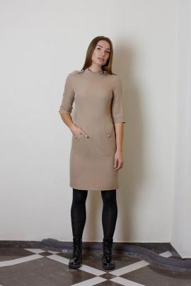 Платье VG Collection 160 бежевый