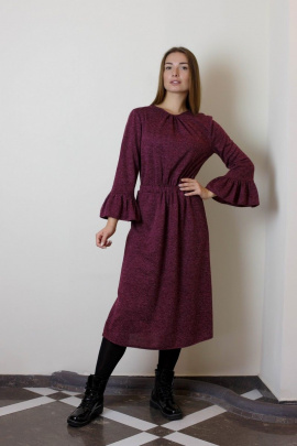 Платье VG Collection 166 бордо