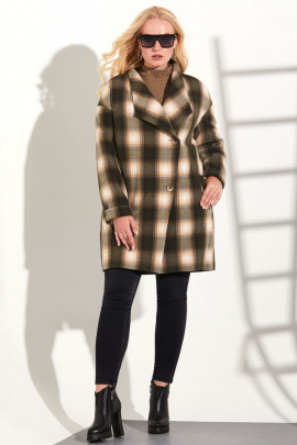 Пальто Golden Valley 7066-1 коричневый