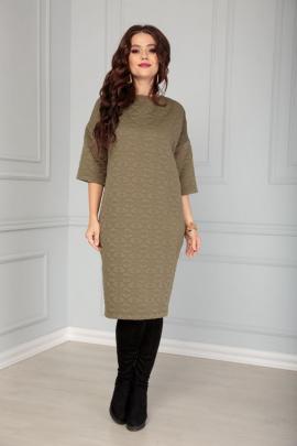 Платье Anastasia 516 олива