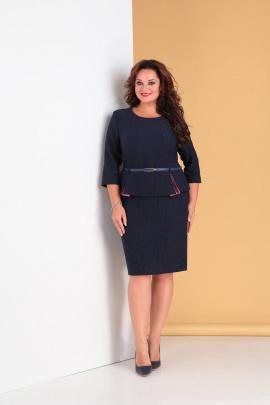 Платье Moda Versal П2061 т.синий+розовый