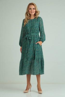 Платье SVT-fashion 545 зеленый