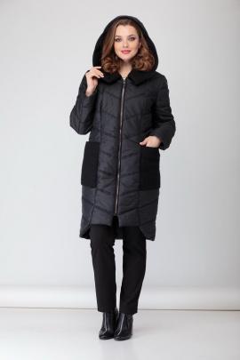 Пальто БАГРЯНИЦА 3058 черный