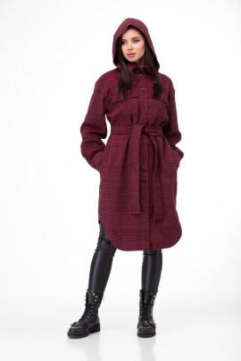 Пальто Anelli 935 красный