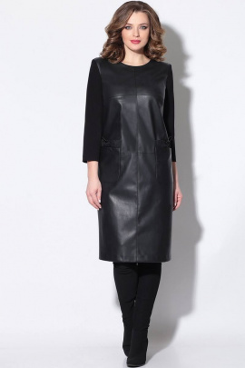 Платье LeNata 11167 черный