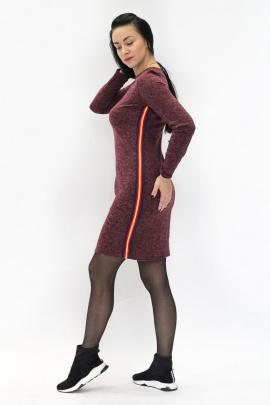 Платье VG Collection 262 бордо