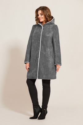 Куртка Магия Стиля М-2509 серый