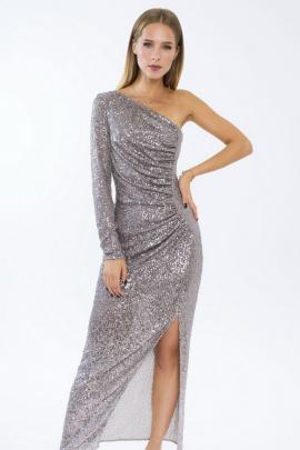 Платье LaVeLa L10177 серый