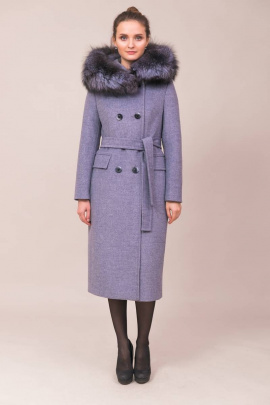 Пальто Winkler's World 615з серо-голубой