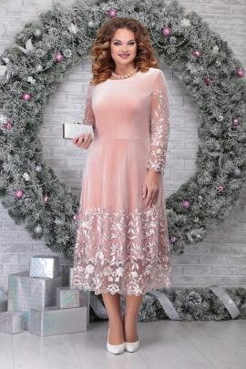 Платье Ninele 5811 пудра
