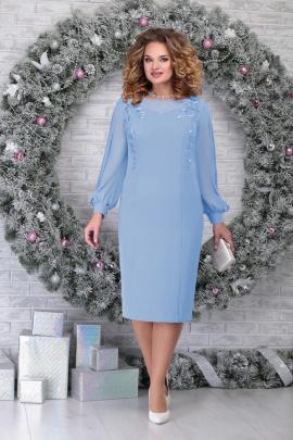 Платье Ninele 5815 голубой