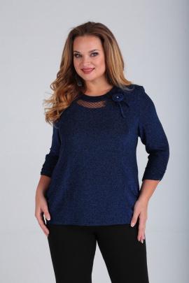 Блуза SOVITA M-644 синий