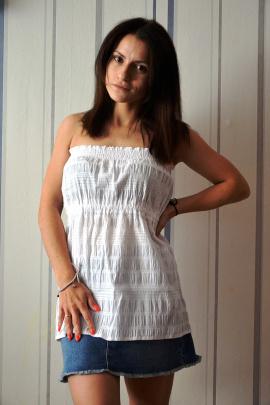 Блуза OLANTIZ БВ005 белый