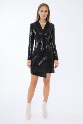Платье LaVeLa L10176 черный