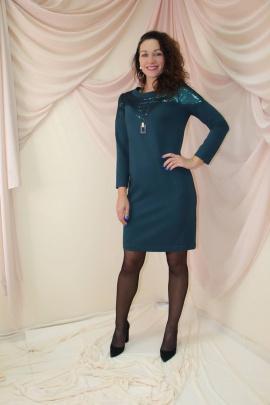Платье Juliet Style Д130 зеленый