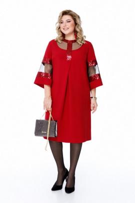 Платье Pretty 1204 бордо