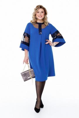 Платье Pretty 1204 василек