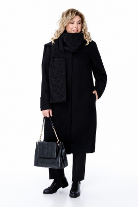 Пальто Pretty 1881 черный