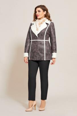 Куртка Магия Стиля М-2508 грязно-розовый