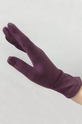 Перчатки ACCENT 1711б бордовый