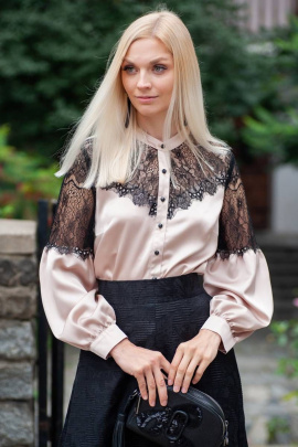 Блуза Achosa 1559 бежевый