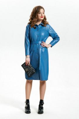 Платье TEZA 1795 голубой