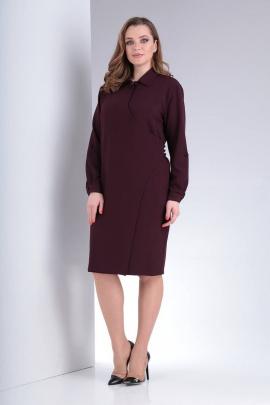Платье Vilena 660 винный