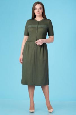 Платье Линия Л Б-1661 зеленый