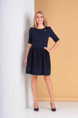Платье Moda Versal П1833 темно-синий