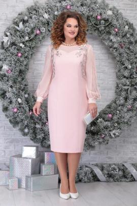 Платье Ninele 5815 пудра