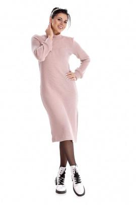 Платье IUKONA 5004 пудра