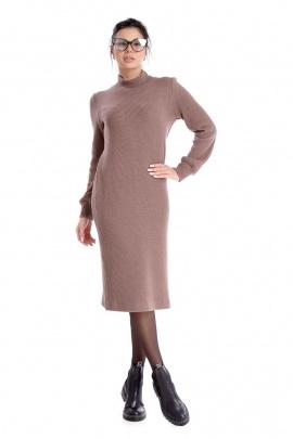 Платье IUKONA 5004 кофе