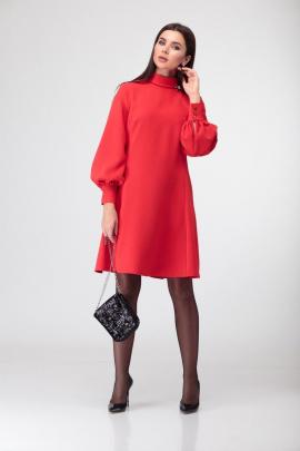 Платье Deluizn 882 красный