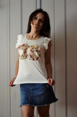 Блуза OLANTIZ БВ003 цветы