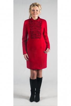 Пальто Zlata 1679 красный