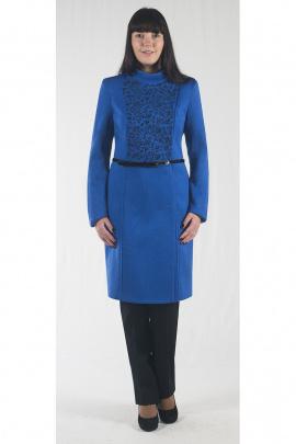 Пальто Zlata 1679 синий