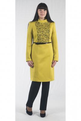 Пальто Zlata 1679 желтый