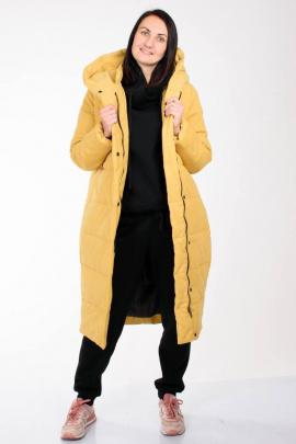 Пальто Weaver 7117 желтый
