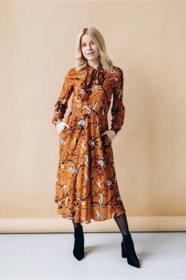 Платье LULA.BY LY2020BIRD