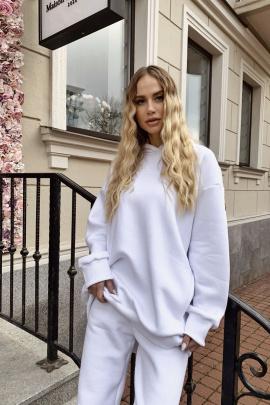 Худи Rawwwr clothing 083-начес белый