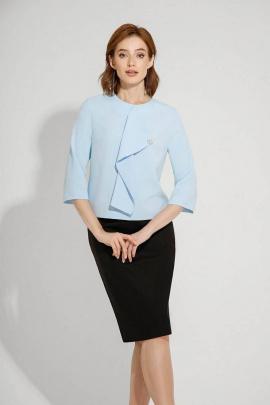 Блуза VIZANTI 8035 голубой