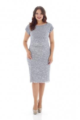 Платье Almila-Lux 1033 серебристый