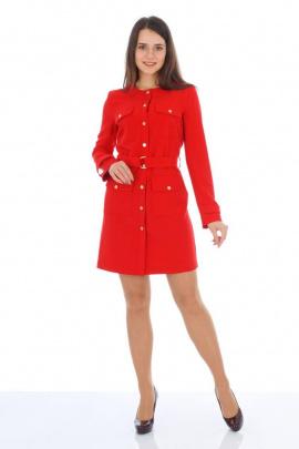 Платье, Пояс Almila-Lux 1059 красный