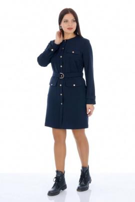 Платье, Пояс Almila-Lux 1059 синий
