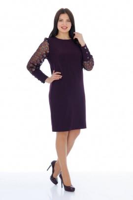Платье Almila-Lux 1060 бордовый