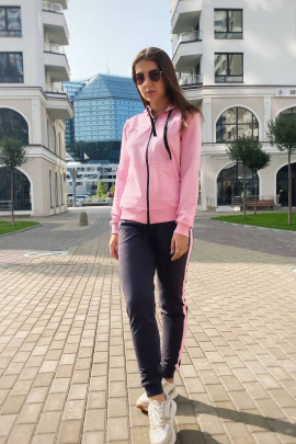 Брюки, Толстовка Almila-Lux 1069 розовый