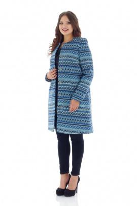 Пальто Almila-Lux 3000 синий