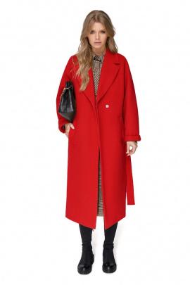 Пальто PiRS 1411 красный